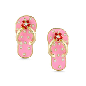 Flip Flop Stud Earrings