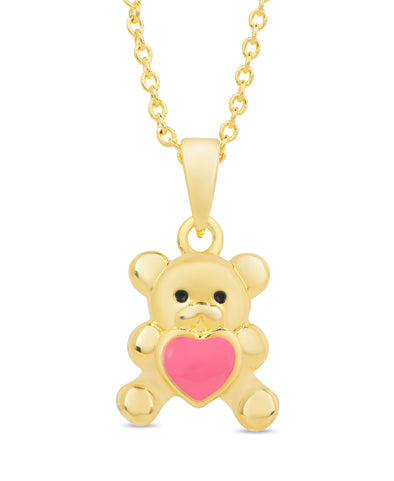 Teddy Bear Love Pendant