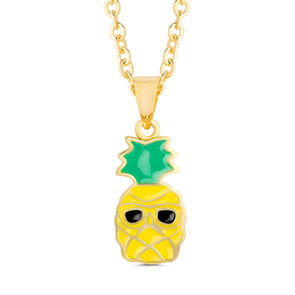 Sunny Pineapple Necklace