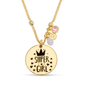 """Super Girl"" Necklace"
