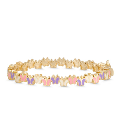 Multi Butterfly Bangle