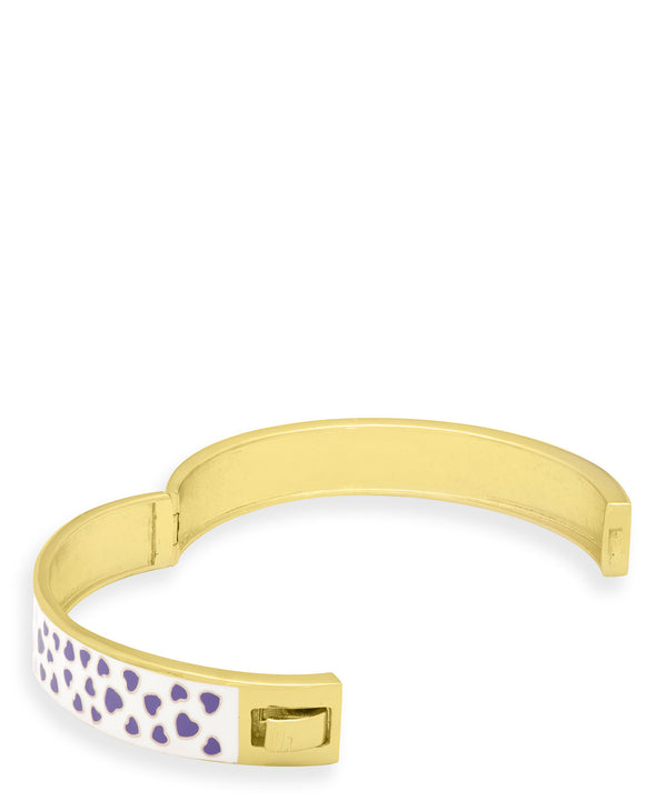 Hearts Pattern Bangle