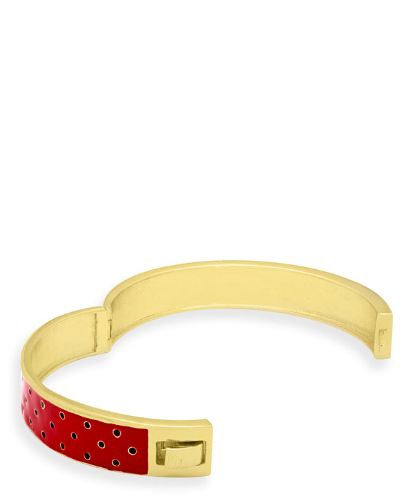 Strawberry Pattern Bangle