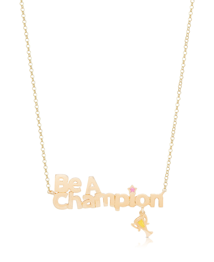 """Be A Champion"" Necklace-1"