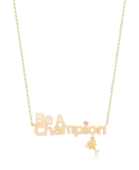 'Be A Champion' Necklace