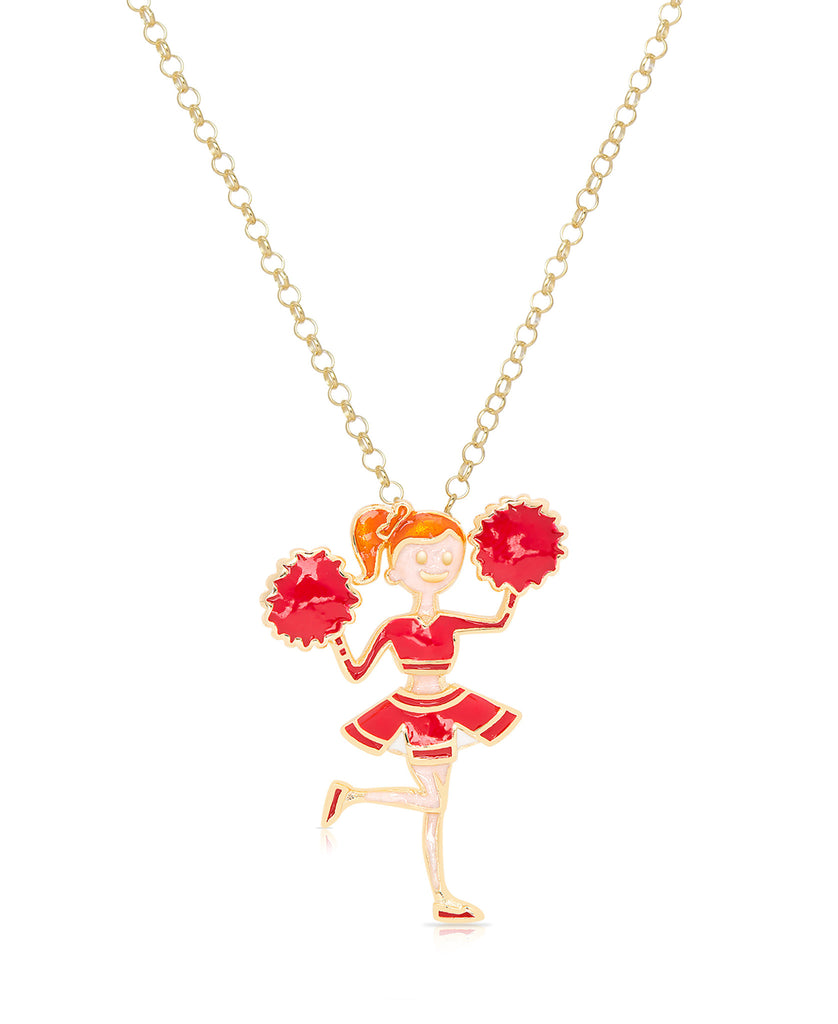Red Cheerleader Pendant-1