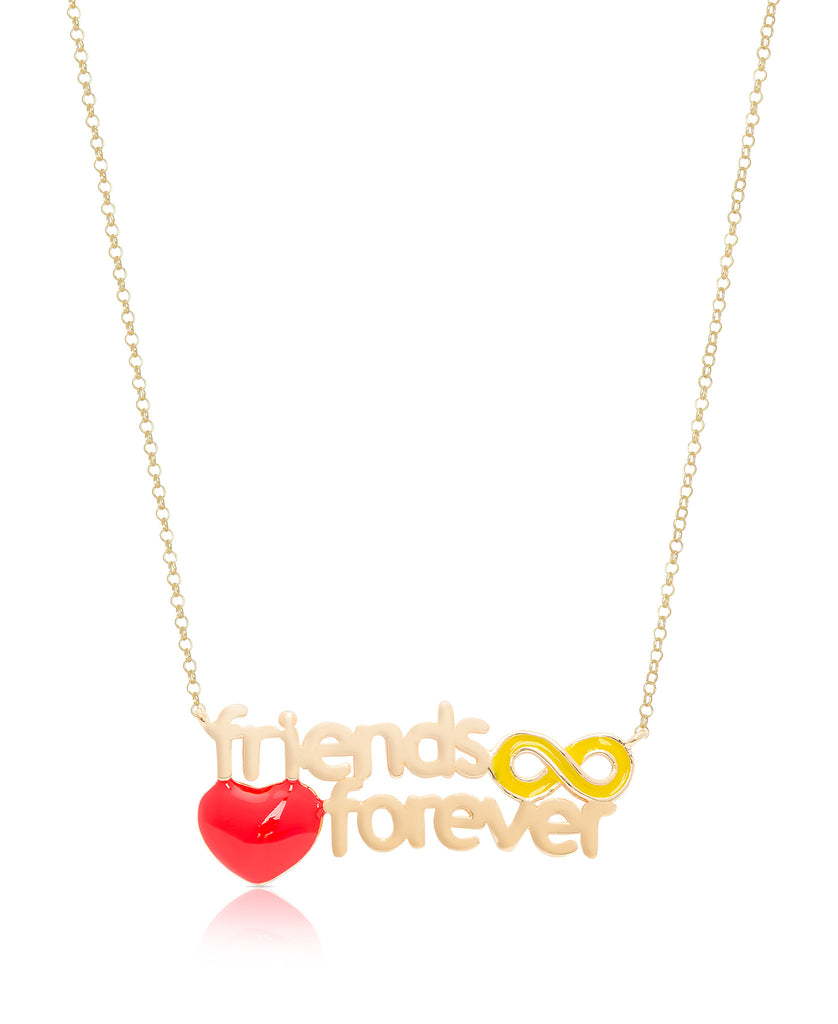 """Friends Forever"" Necklace-1"