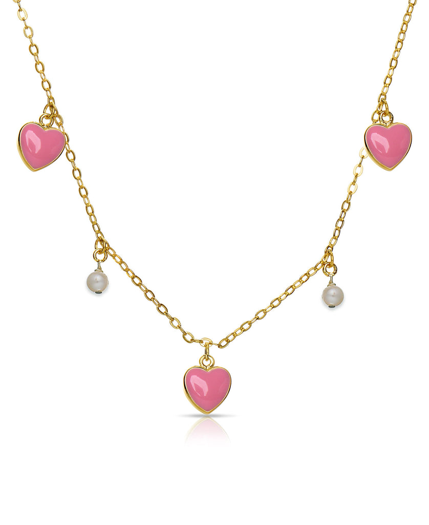 Hearts and Pearls Necklace-1