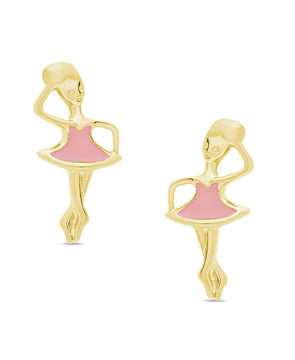 Ballerina Stud Earrings