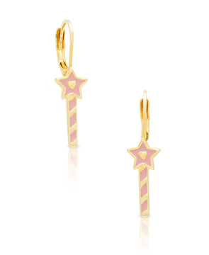 Princess Wand Drop Earrings