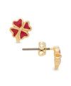 Four Leaf Clover Stud Earrings