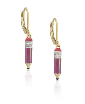 Pencil Earrings