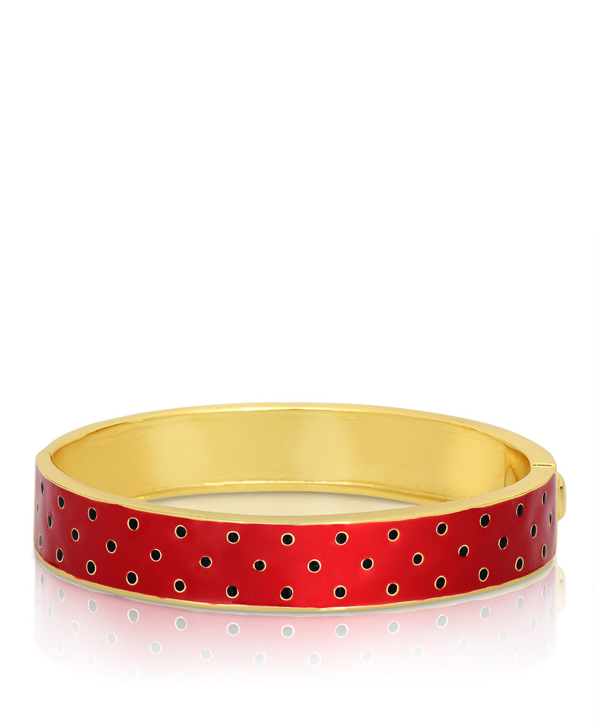 Strawberry Pattern Bangle-1