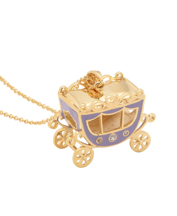 Princess Carriage Pendant (Purple)