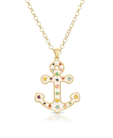 Heart Anchor Pendant