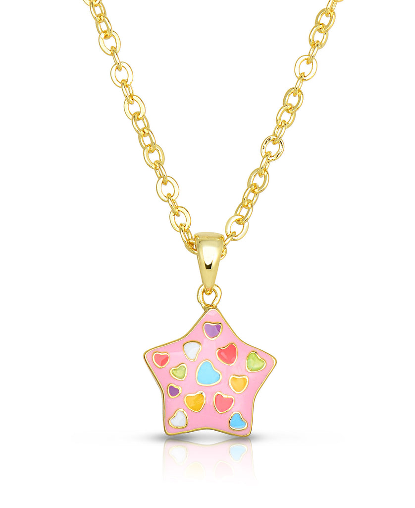 Puffed Star Pendant-1