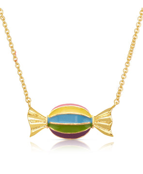 Striped Candy Necklace