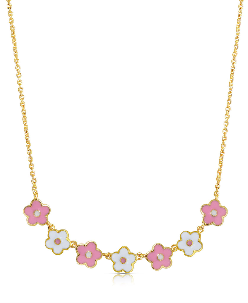 Flower-Links Necklace-1