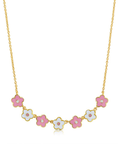 Flower-Links Necklace