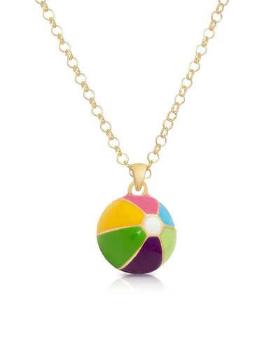 Beach Ball Pendant