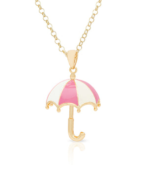 3D Umbrella Pendant (Pink)