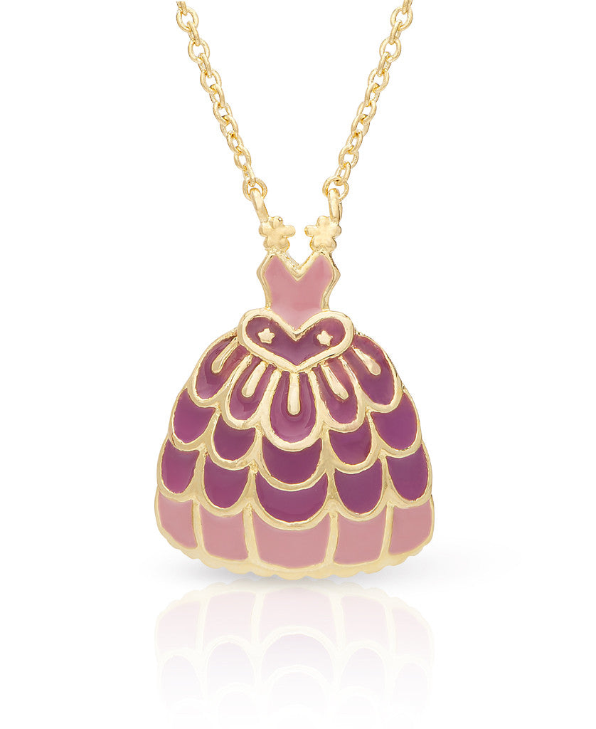 Princess Dress Necklace-1