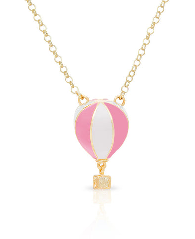 3D Hot Air Balloon Necklace