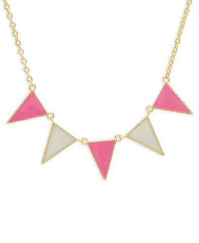 Pennant Banner Necklace
