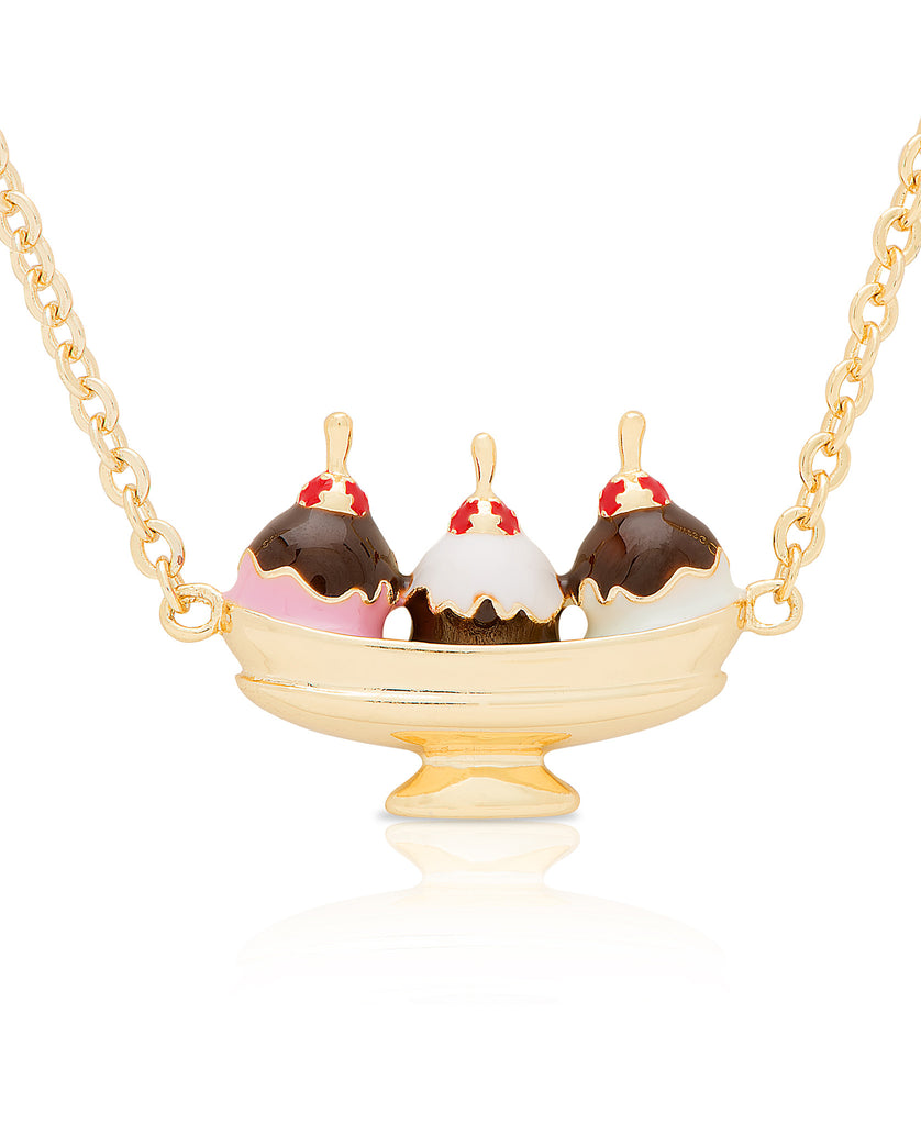 Ice Cream Sundae Necklace-1