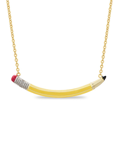 Pencil Necklace