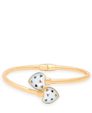 Puffed Heart Bypass Bangle