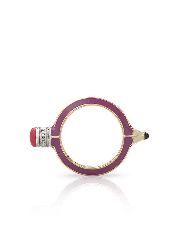 Pencil Ring (Purple)