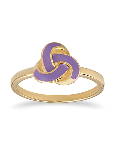 Love Knot Ring (Purple)