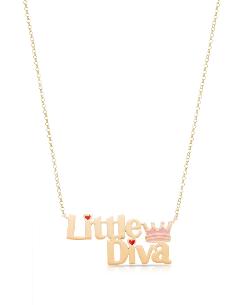 """Little Diva"" Necklace-1"
