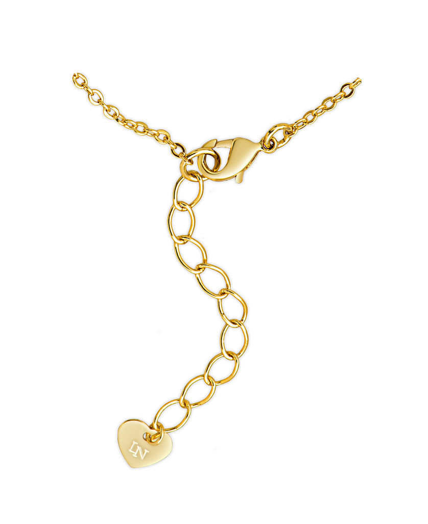 finished necklace heart in double products collections gold crislu pendant to