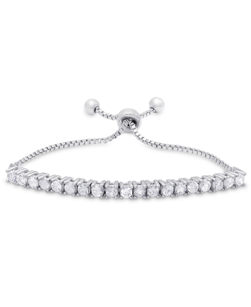 nily in products sterling lily bracelet bolo silver cz