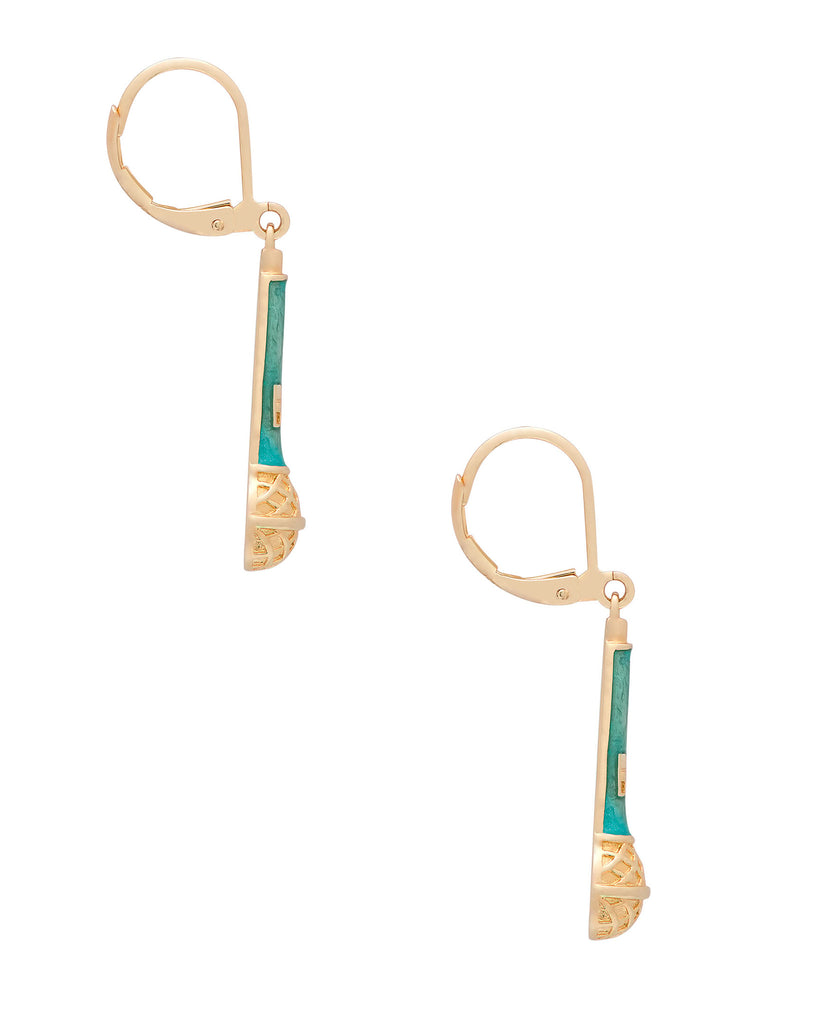 Microphone Leverback Earrings-2