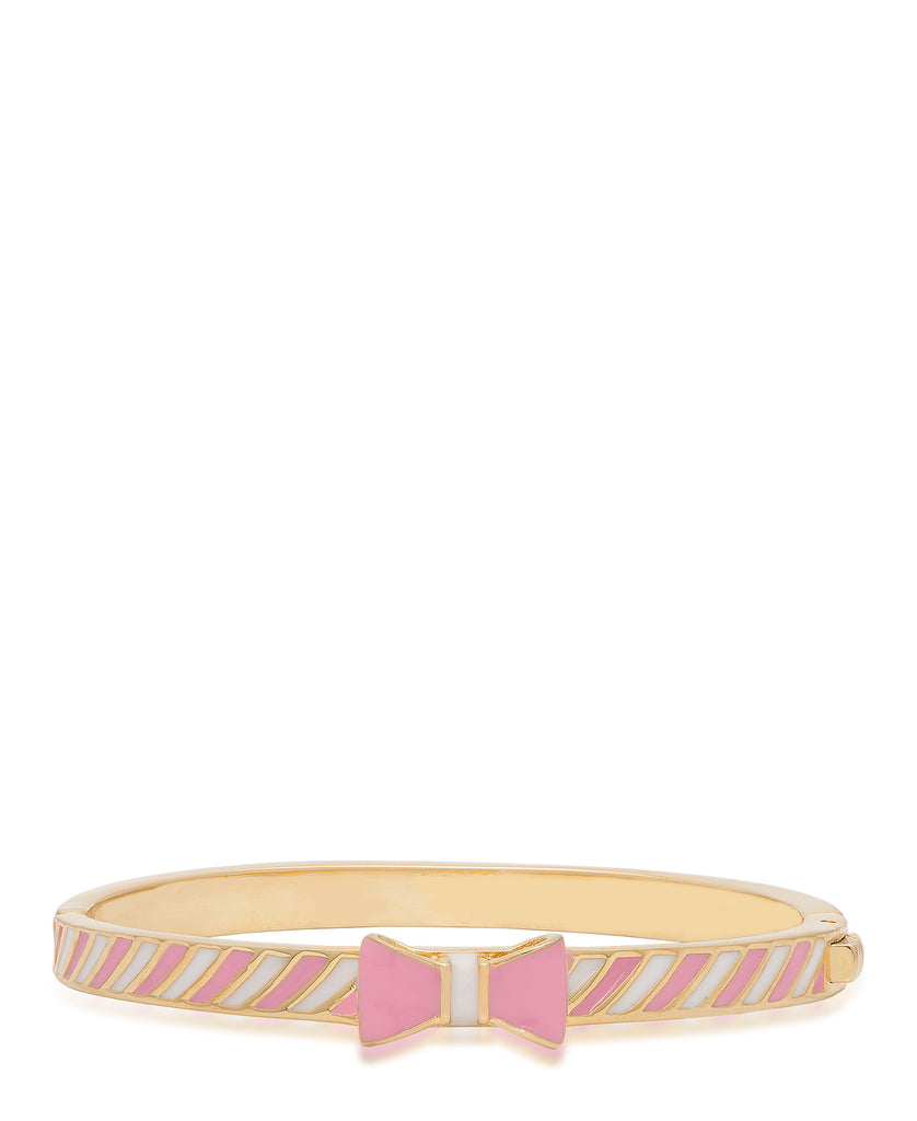 Striped Bow Bangle-1