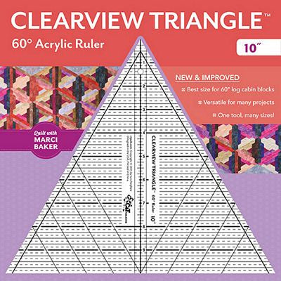 "Clearview Triangle 60' 10"" Ruler"