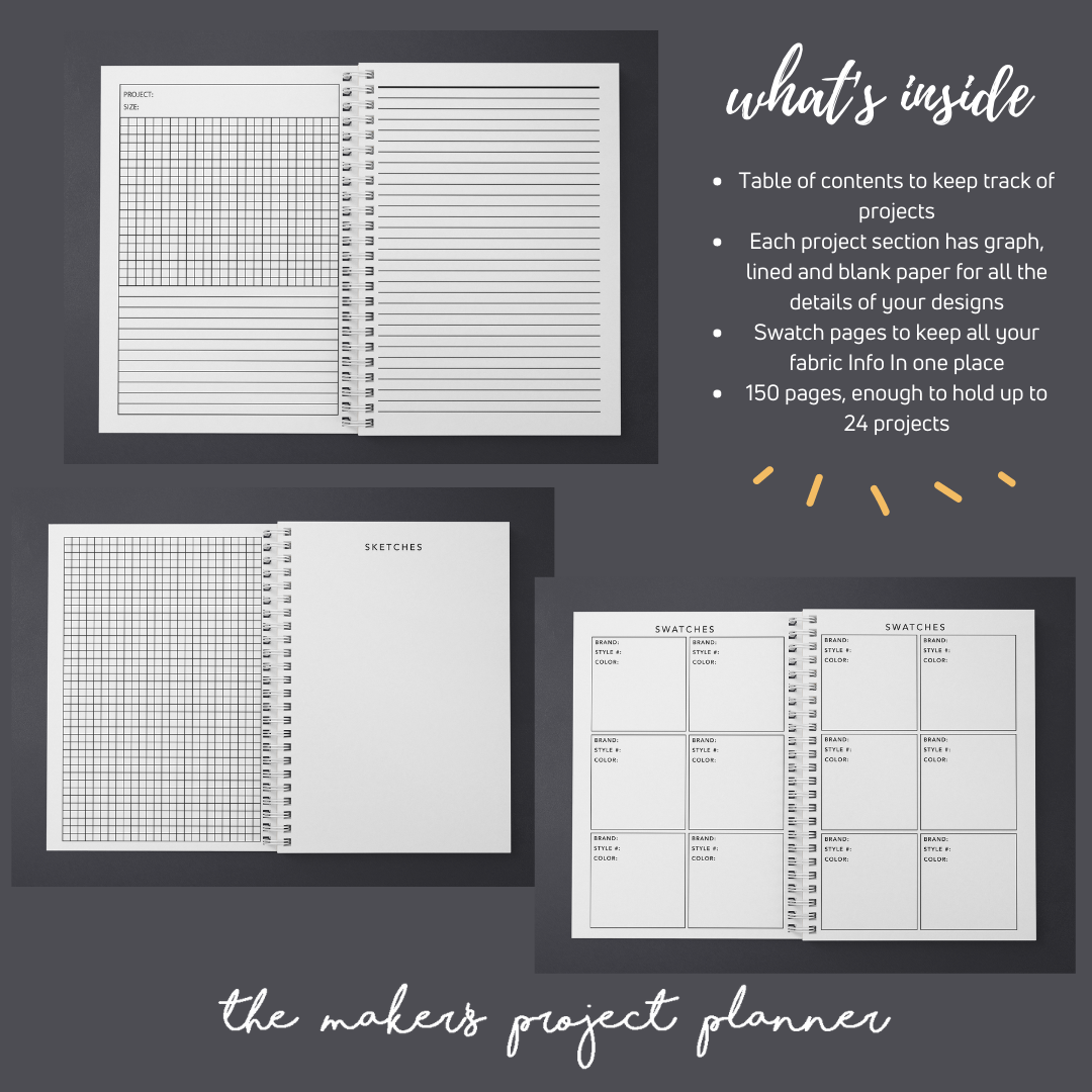 The Maker's Project Planner