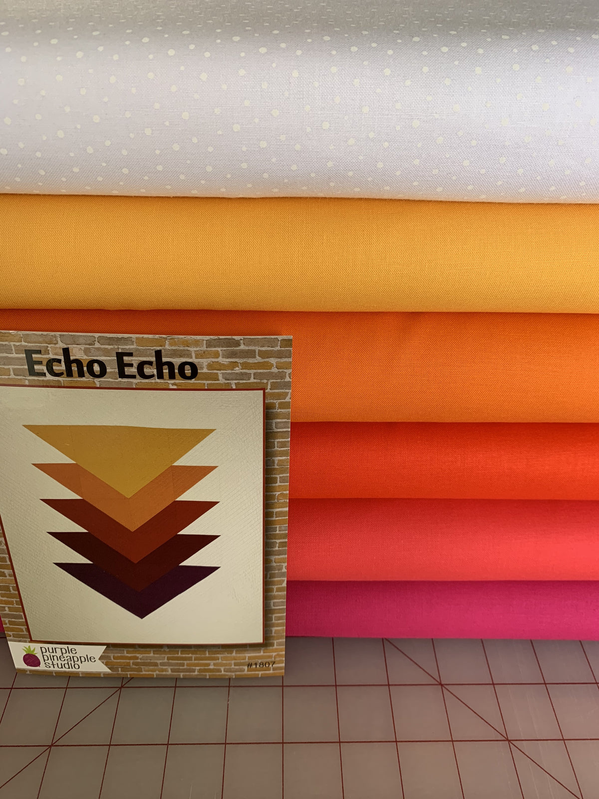 Echo Echo Kit- Yellow, Orange and Fushia