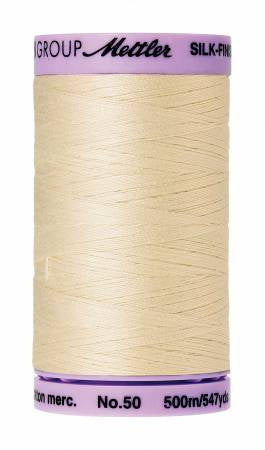Silk-Finish 50wt Solid Cotton Thread 547yd/500M Muslin # 9104-0778
