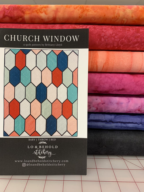 Church Window Kit [Batiks Warm]