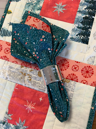 Boxed In Table Runner & Napkin Class