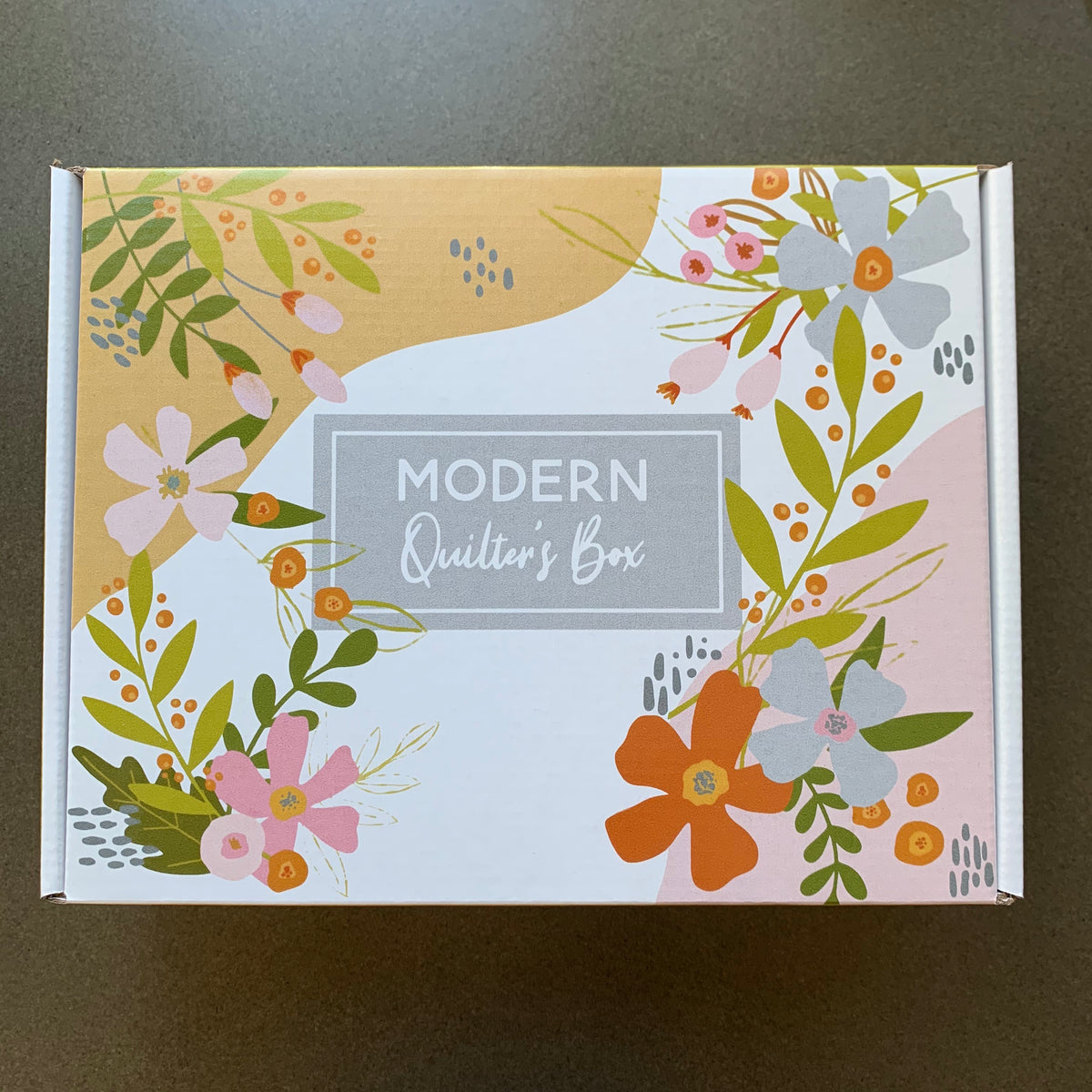 March Modern Quilter's Box