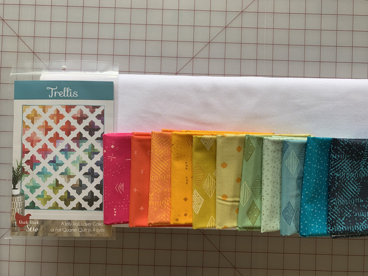 Trellis Kit- AGF Rainbow + White