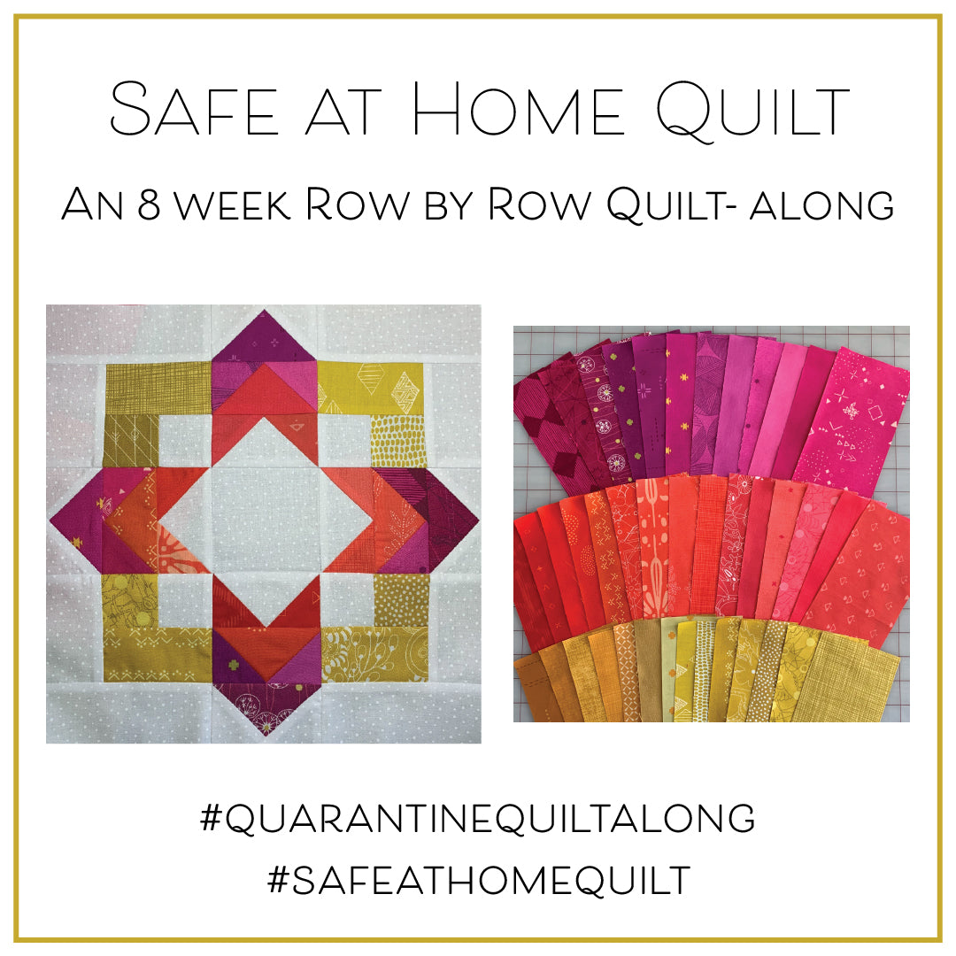 Safe at Home Quilt Kit