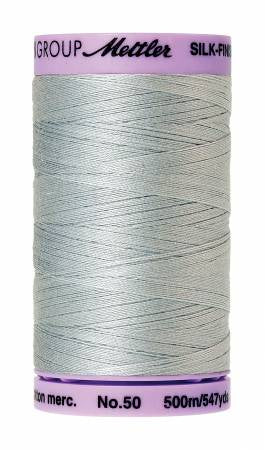 Silk-Finish 50wt Solid Cotton Thread 547yd/500M Moonstone # 9104-1081