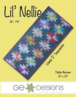 Lil Nellie Table Runner Pattern