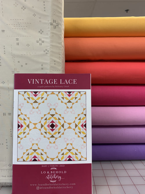 Vintage Lace Kit Sunset Solids